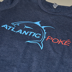 Atlantic Poke Full Front Screen Printing