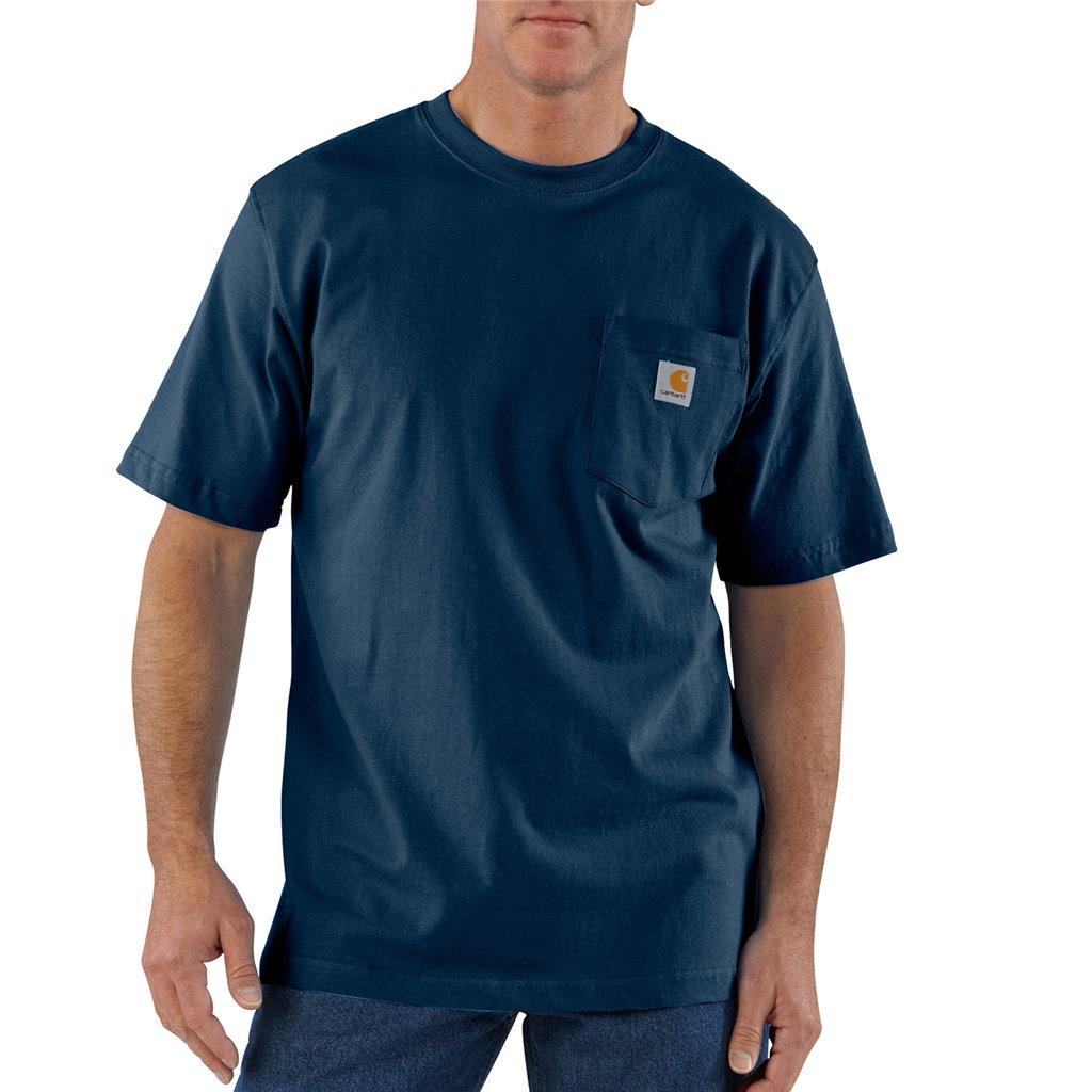 Car K87nvy 2x Tall Carhartt Workwear T Shirt Short Sleeve