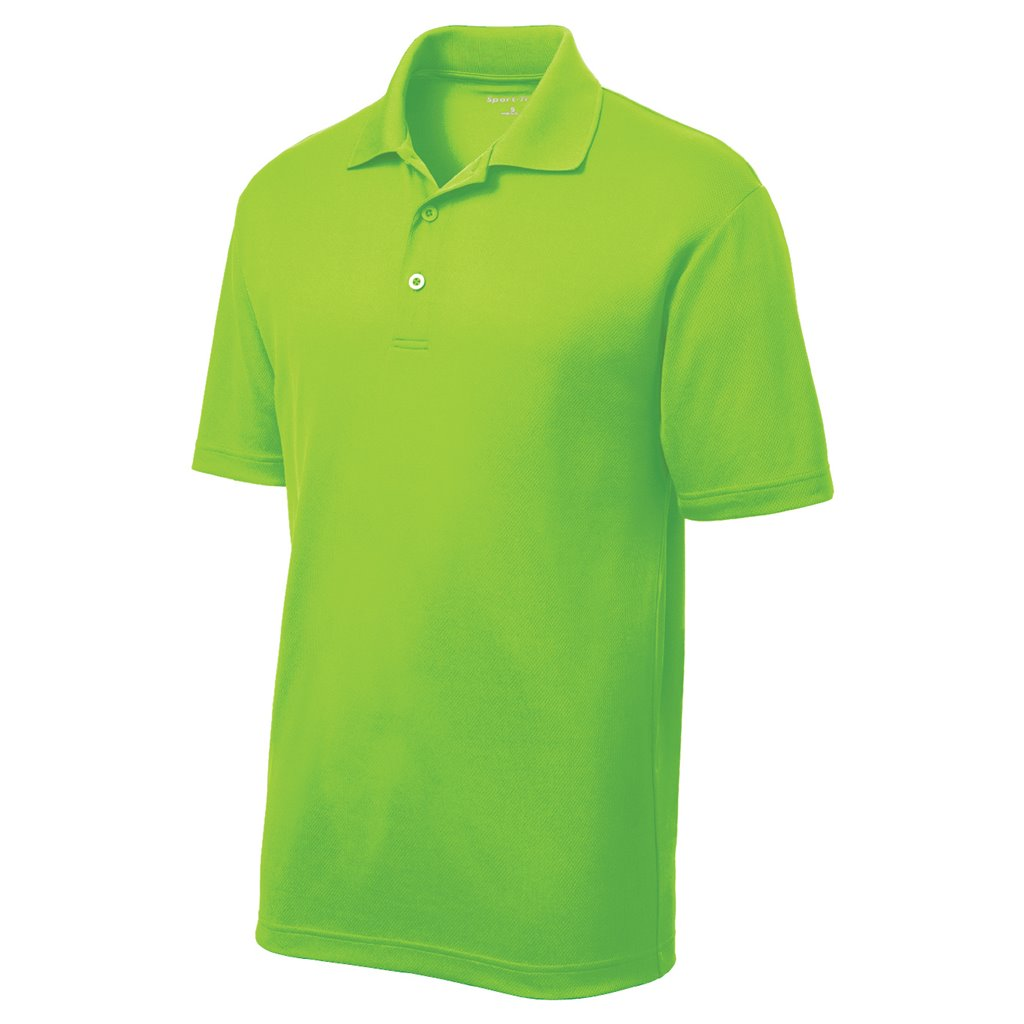 a972ad24f Sport-Tek® PosiCharge® RacerMesh™ Wicking Polo Shirt. CMG-ST640-NGN-2X