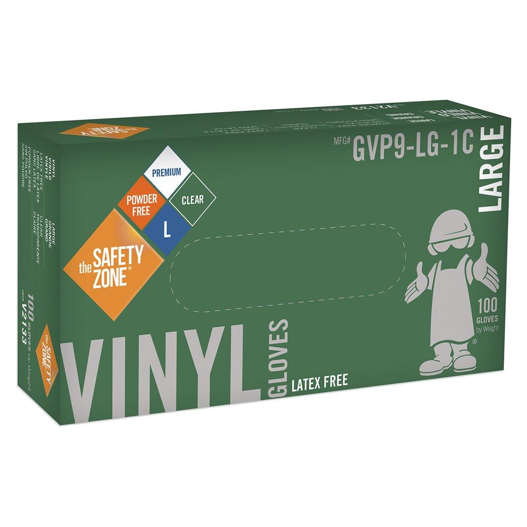Gvy 5021 Lg Gvy5021lg Gloves Vinyl 5mil Pf Blu Lg Masterman S