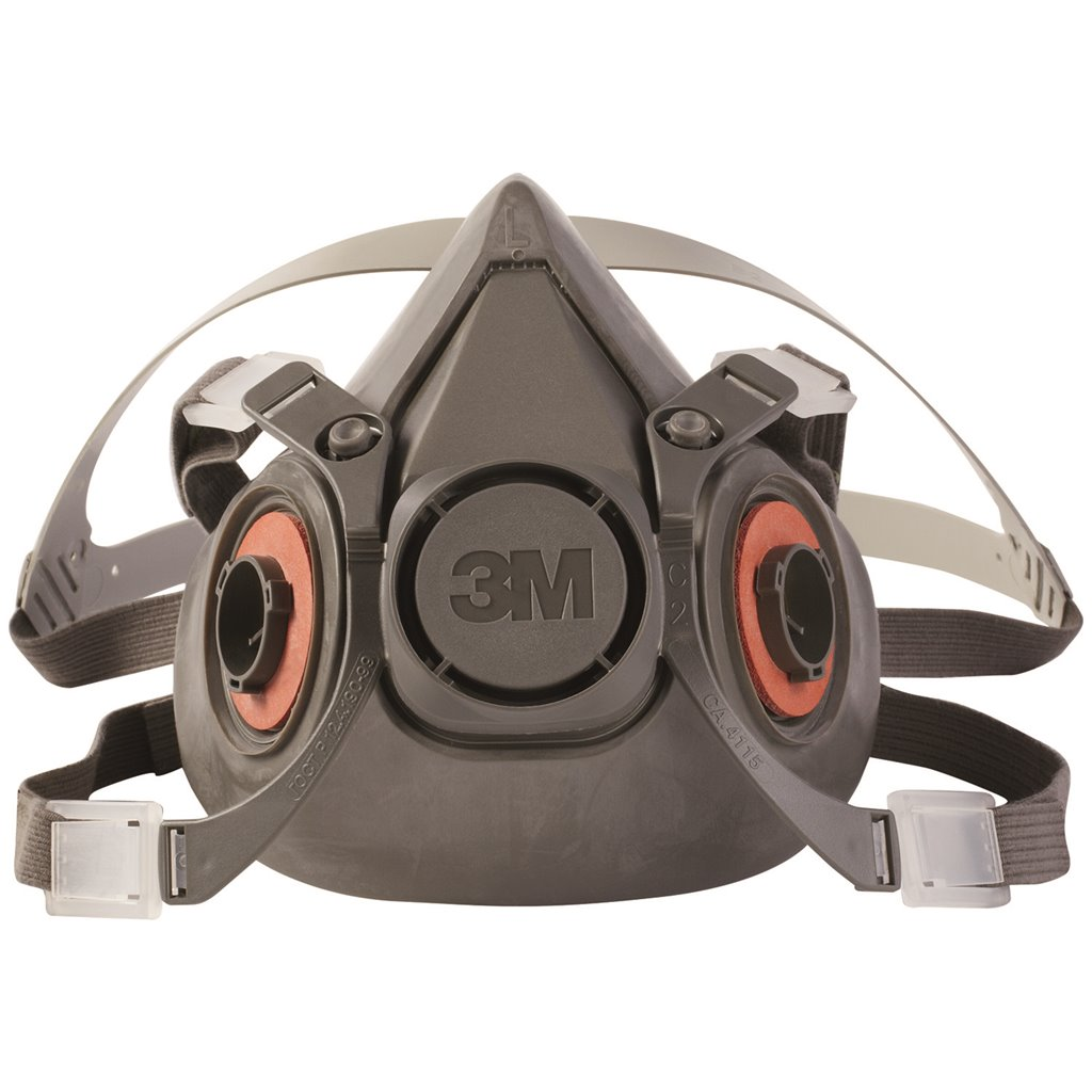 3m 6000 series half mask respirator