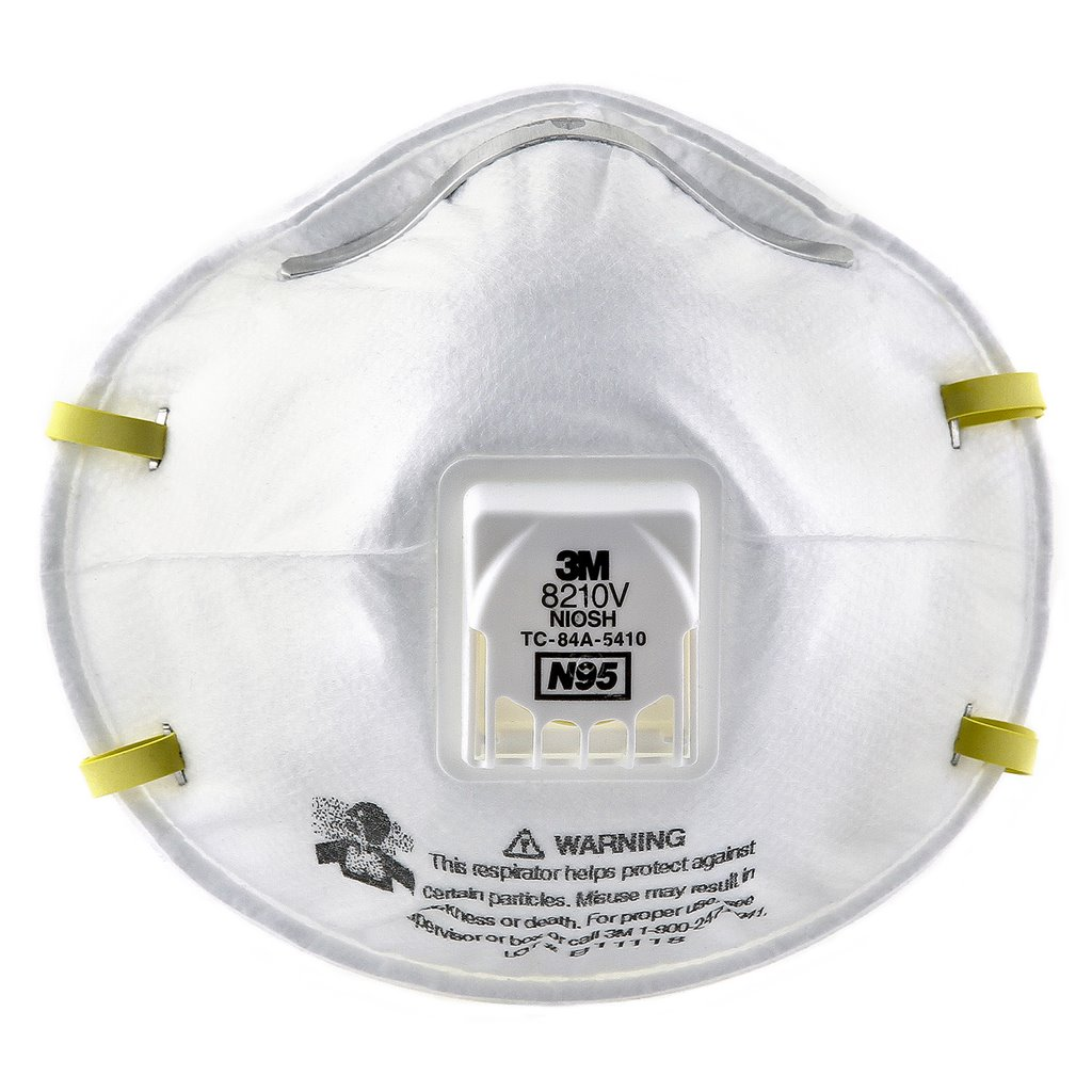 3m n95 valved respirator mask