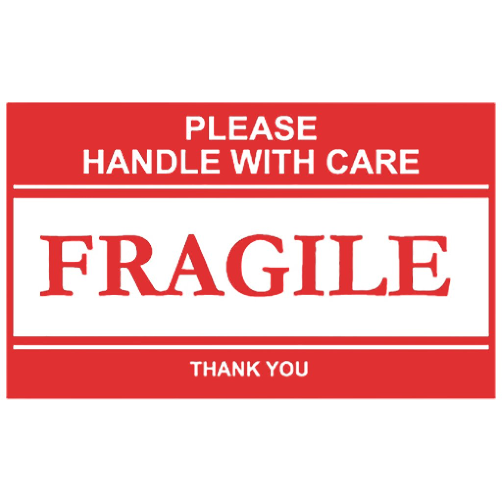 NMC Please Handle with Care Fragile Label