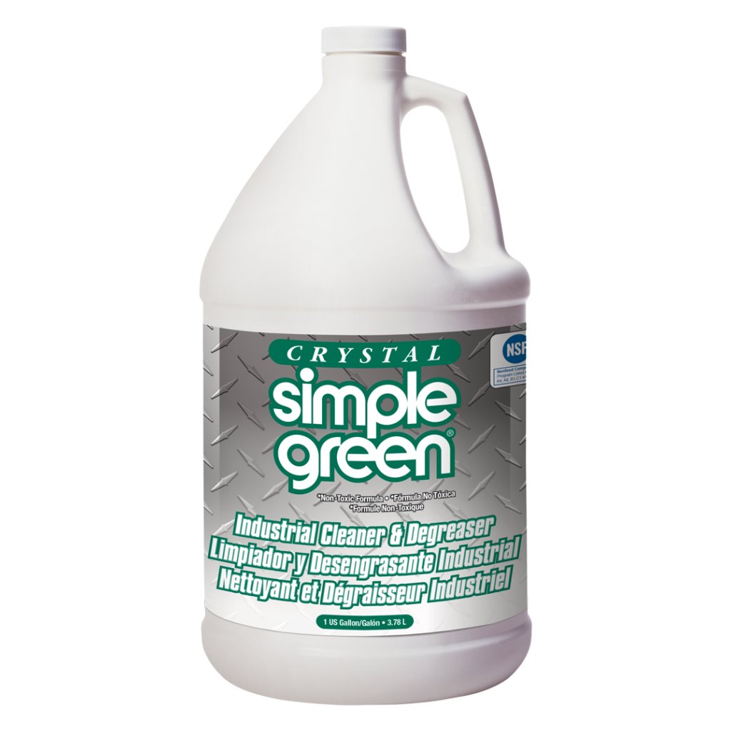 Ssg 19128 ssg19128 simple green crystal gallon masterman 39 s for Commercial degreaser for concrete