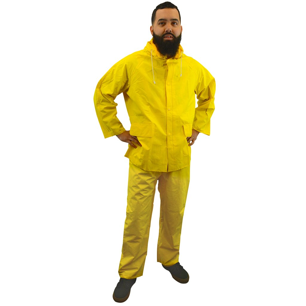 Heavyweight 3-Piece Rainsuit