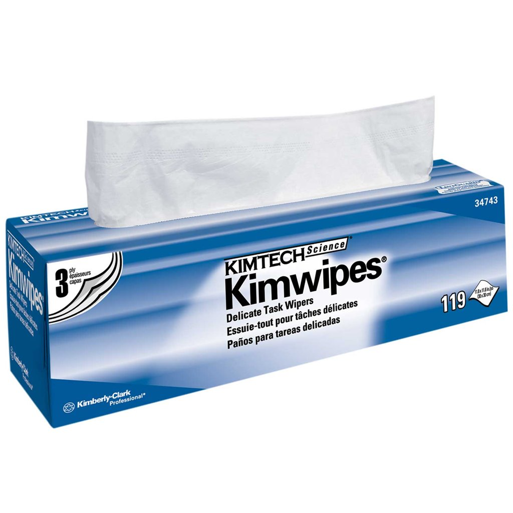 Kimberly-Clark Kimtech Science* Kimwipes* Delicate Task Wipers. WKC-34743