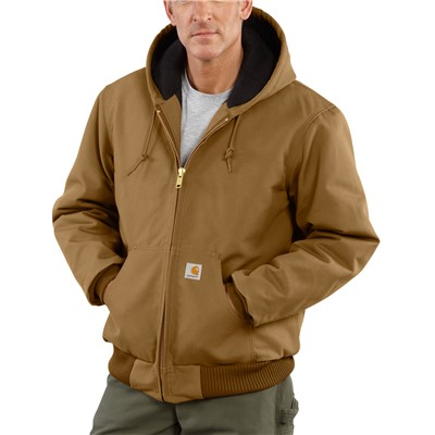 Jacket Active Lined Duck BRN TLG