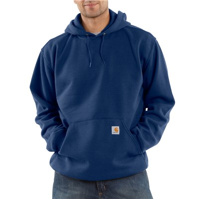 Sweatshirt Hooded Pullover NVY 2X