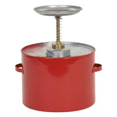 Can Safety Plunger Metal 4qt RED