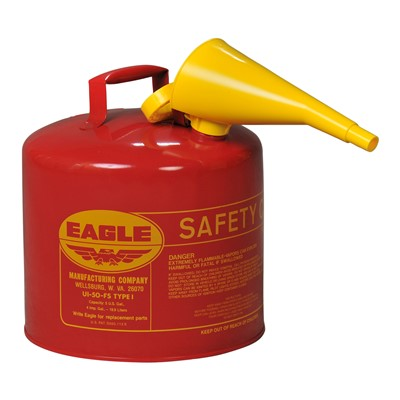 Can Safety Type I 5gal RED