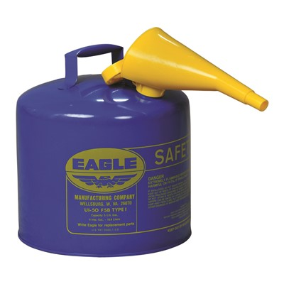 Can Safety Type I 5gal BLU