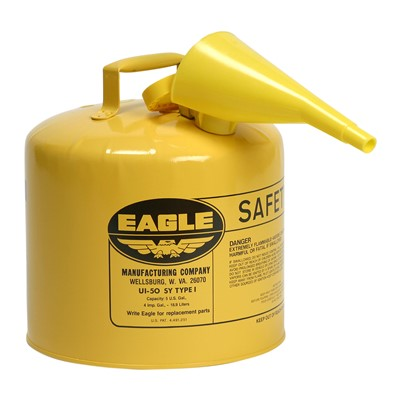 Can Safety Type I 5gal YLW