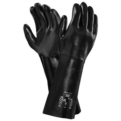 Gcn 9 928 Gcn9928 Gloves Scorpio Neox 18in Fc Blk Sz 10