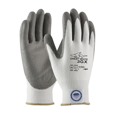 Gloves A3 Great White 3GX PU PC WHT/GRY