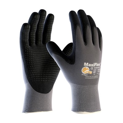 Gloves MaxiFlex Endurance PC GRY/BLK XS