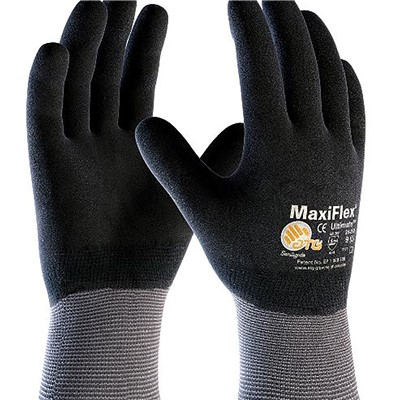 Gloves MaxiFlex Ultimate FC GRY/BLK LG