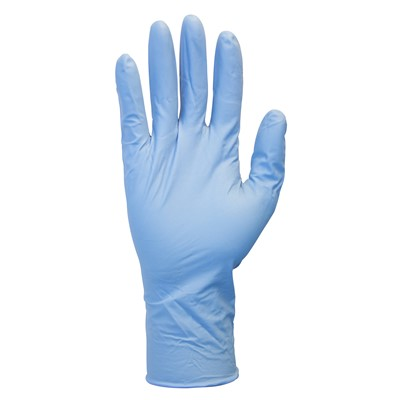 Gloves Nitrile Exam 8mil EC PF BLU XL