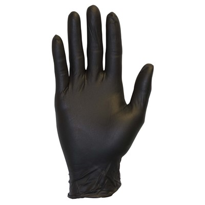 Gloves SemperForce Nitrile PF BLK XL