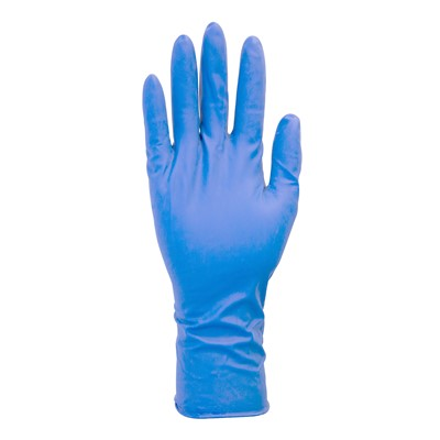 Gloves Latex 13mil EC PF BLU XL