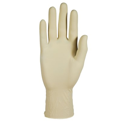 Gloves Diamond Grip Latex Exam PF NAT XL