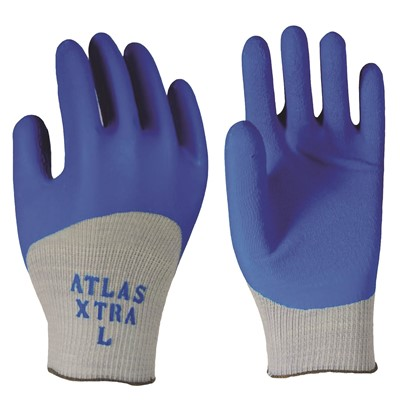 ANSELL 40-105 Coated Gloves,Size 9,Blue//Gray,PR