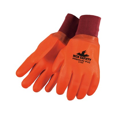 Gloves PVC Lined FC KW ORG
