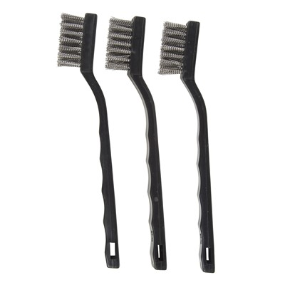 Stainless Steel Bristle Mini Brushes