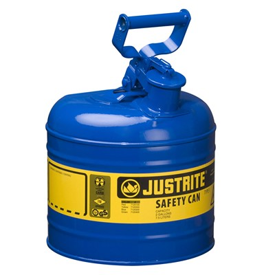 Can Safety 2gal Steel Type I BLU