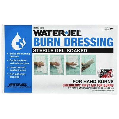 Burn Dressing Hand Burns 8in x 20in