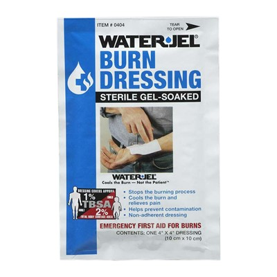 Burn Dressing WaterJel 4in x 4in