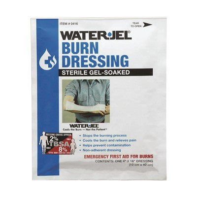 Burn Dressing WaterJel 4in x 16in