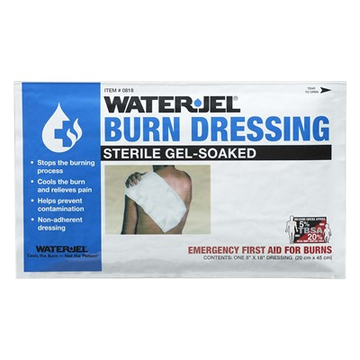 Burn Dressing WaterJel 8in x 18in