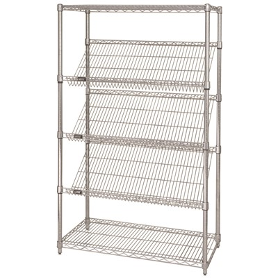 Shelving Slanted 18in x 36in x 63in CHM