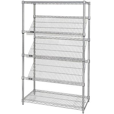 Shelving Slanted 24in x 36in x 63in CHM