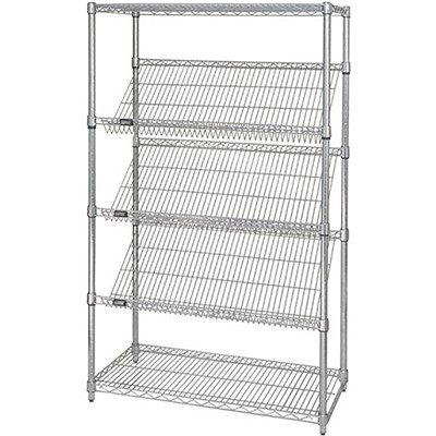 Shelving Slanted 24in x 48in x 63in CHM