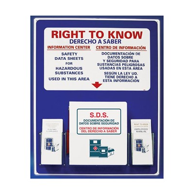 Right To Know Center 30x24 Bilingual