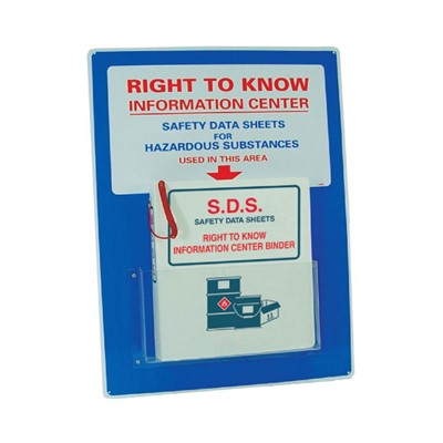 Right To Know Info Center 18x24