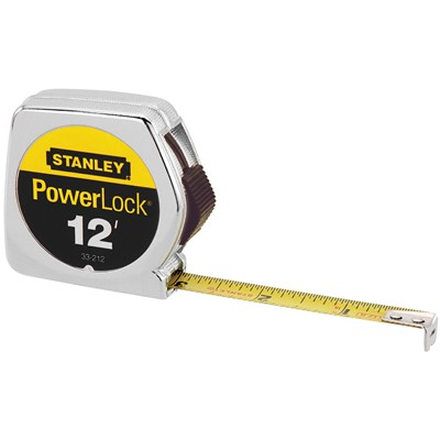 12ft x 1/2in Powerlock Tape Rule