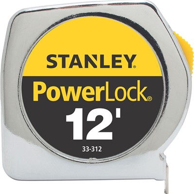 12ft x 3/4in Powerlock Tape Rule