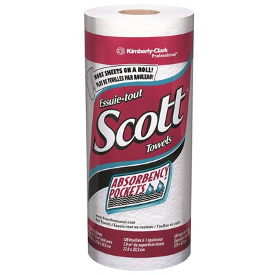 Towels Scott Kitchen Roll WHT