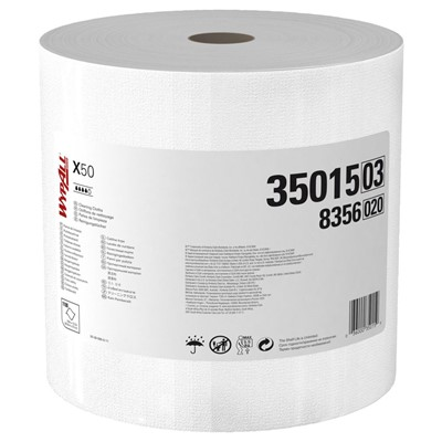 Wipers Wypall X50 Jumbo Roll WHT
