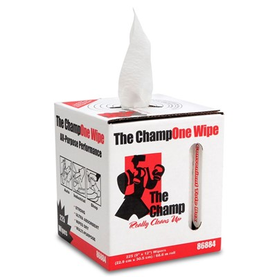 Wipers Champ One Center-Pull Box WHT