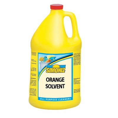 Cleaner Simoniz orange Solvent gallon