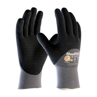Gloves MaxiFlex Endurance 3/4 GRY/BLK MD