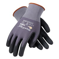 Gloves MaxiFlex Ultimate PC GRY/BLK LG