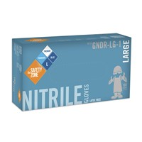 Gloves Nitrile 6mil BLU XL