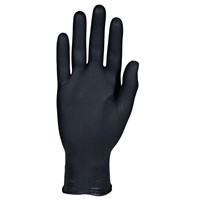Gloves MidKnight Nitrile Exam PF BLK XL