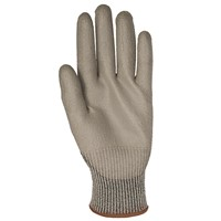 Gloves PosiGrip A3 PU PC GRY/GRY