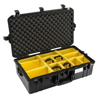 Case Large w/Padded Dividers BLK