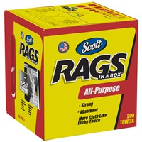 Wipers Scott Rags In A Box WHT